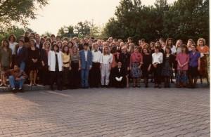 Abiball 1990 Gruppenfoto